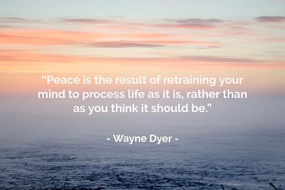 quotes bring inner peace tough times