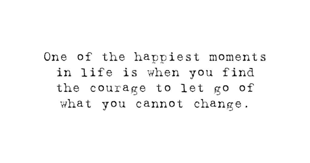 Let go quotes just Letting Go