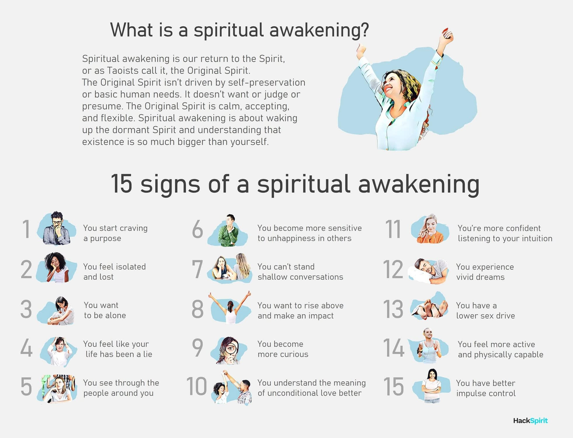 What is a spiritual awakening? 15 signs someone is going through a spiritual awakening