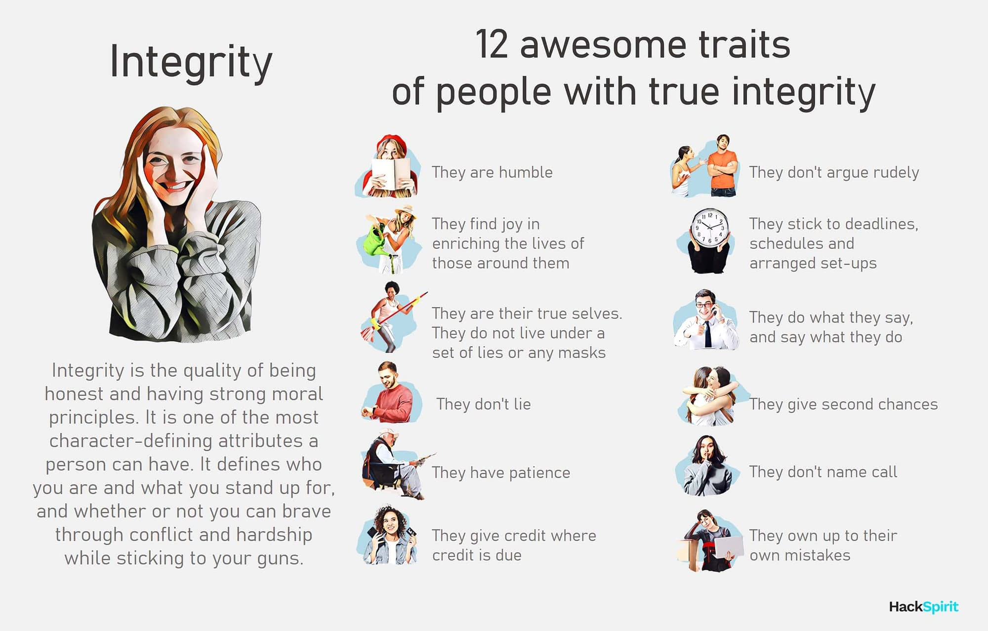 What is integrity? 12 traits of someone with true integrity