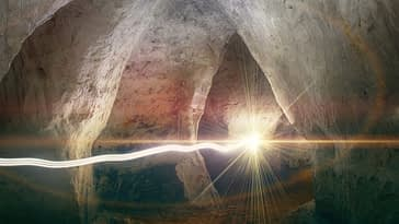 Photo of light energy-reality is an illusion.